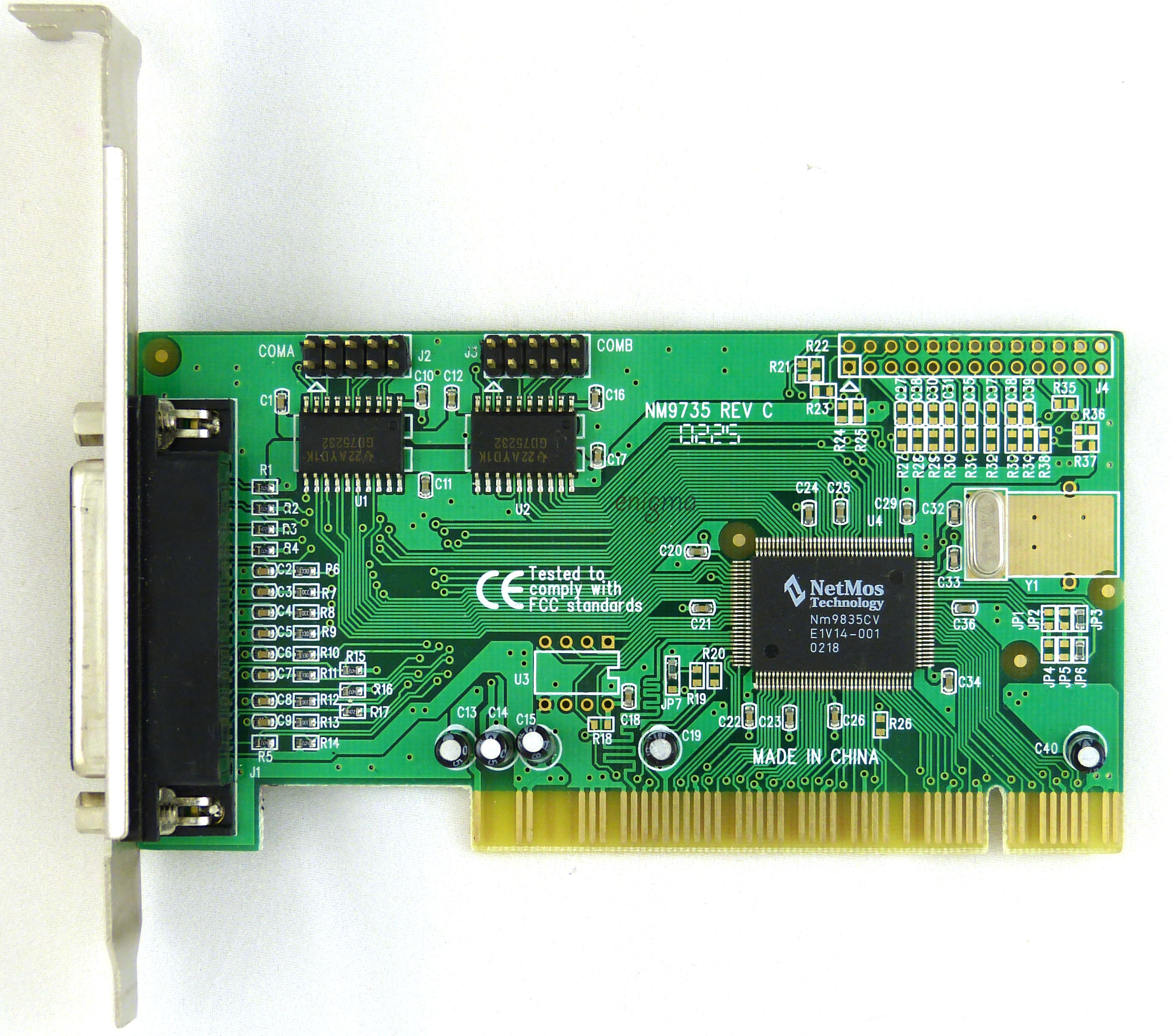 NETMOS 9735 PCI SERIAL PORT DRIVER DOWNLOAD