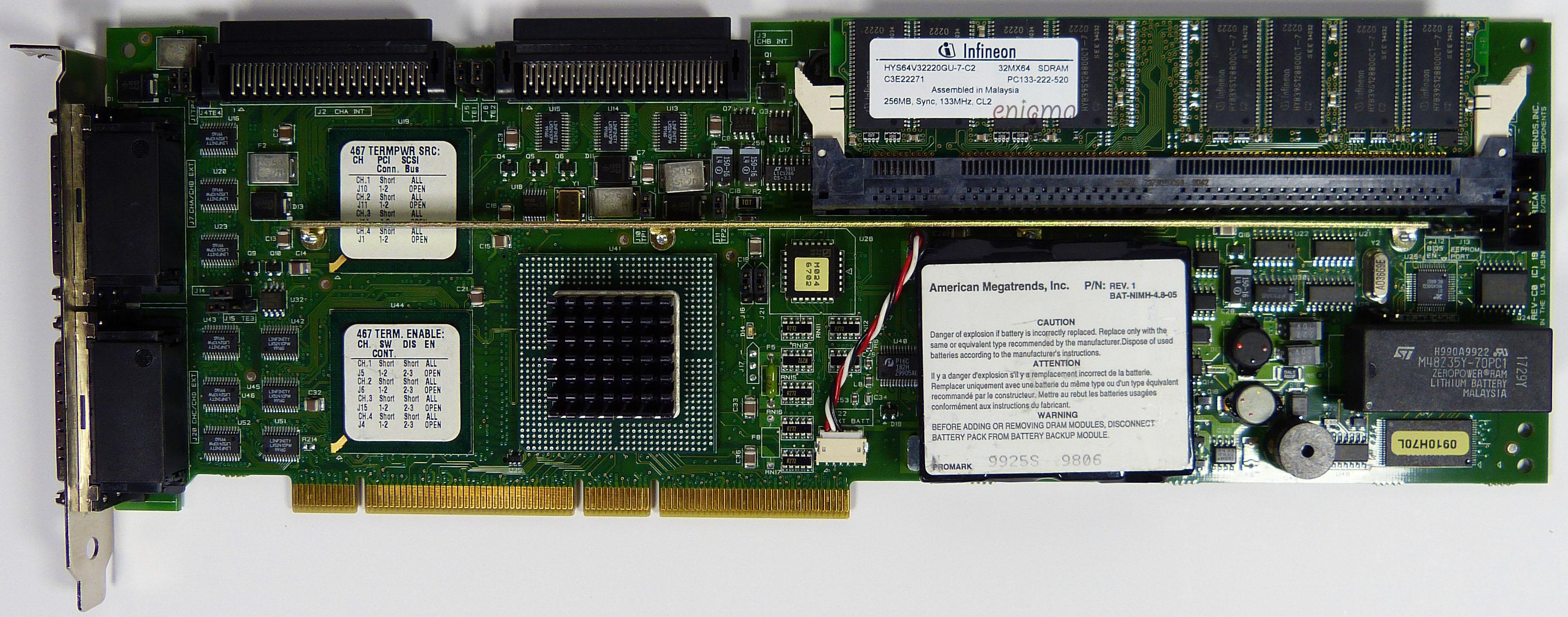 AMI MegaRAID Enterprise 1500 RAID Driver Download